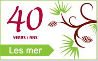 Logo: 40 års jubileum